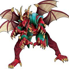 Chance Dragonoid in Bakuganform
