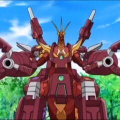 Maxus Cross Dragonoid in Bakugan Form