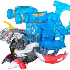 Translucent Helios MK2 (Battle Gear compatible) with Translucent Twin Destructor
