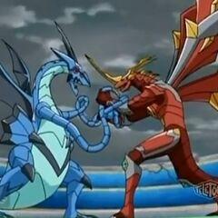 Krakenoid vs Titanium Dragonoid