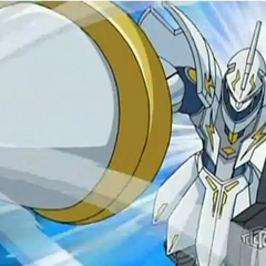 Wolfurio about to finish off a Chaos Bakugan