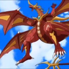 Cross Dragonoid in Bakugan Form