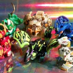 The Twelve Orders side. Everyone painting his/her Bakugan should be more hard-working after seeing this. Including me.
