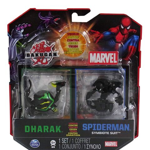 Packaging of Spider Man (Symbiote Suit) and <a href=