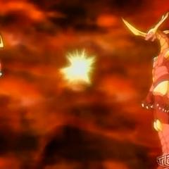 Neo Ziperator transferring The Element to Helix Dragonoid