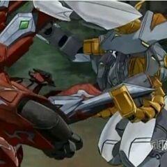Swift Sweep vs Deezall in hand to hand combat
