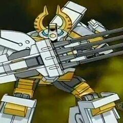 Boriates using Fusion Ability <b>Buster Megabarrel</b>