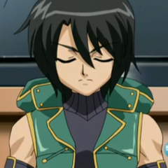 Shun with closed eyes