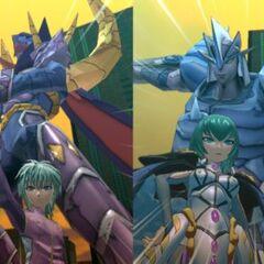 Knight Percival vs Elico