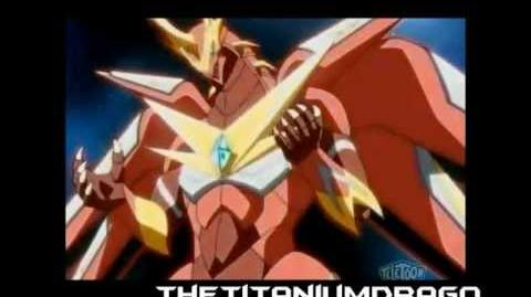 Bakugan Mechtanium Surge - Drago Evolutions Titanium Dragonoid evolves into Fusion Dragonoid