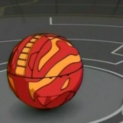 Dragonoid in ball form (closed)
