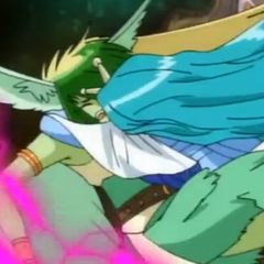 Sirenoid trying to protect Harpus