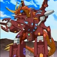 Maxus Dragonoid in Bakugan form
