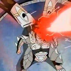 Helios MK2 using ability <b>Blackout Cannon</b>