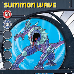 Blue Ability Card design for Bakugan Battle Brawlers