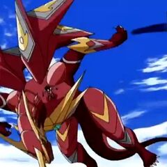 Fusion Dragonoid about to fall down