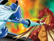 Aquos Siege vs. Dragonoid
