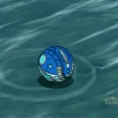 Krakenoid in ball form (close)