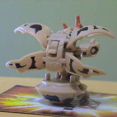 Subterra Blitz Dragonoid (back view)