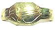 Sanzu Metal Cross 02 Gold