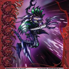 Red Ability Card design for Bakugan: Mechtanium Surge
