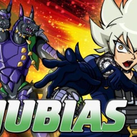 Anubias and Horridian's official art on the Cartoon Network website