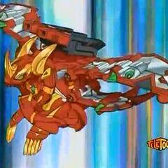 Lumino Dragonoid with Explosix Gear