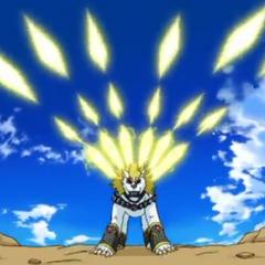 Lumagrowl using ability <b>Arcadia Sword</b>