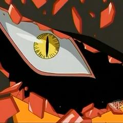 Rex Vulcan's real eye