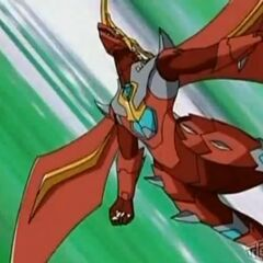 Mercury Dragonoid flying