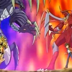 Drago and Dan vs Razenoid and Mag Mel