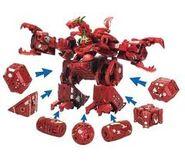 Maxus dragonoid i jego zamknięte części