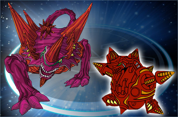 Bakugan Scorpion Black Darkus New Vestroia Trap /& cards