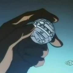 Neo Ziperator locked in ball form