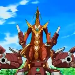 Maxus Cross Dragonoid in Bakuganform