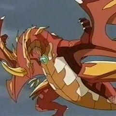 Neo Dragonoid in Bakugan Form