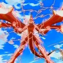 Drago using <b>Dragon Hard Striker</b> on New Vestroia