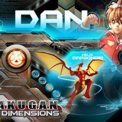 Bakugan Dimensions:Dan and Helix Dragonoid
