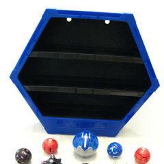 Blue Display Case