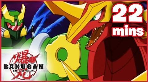 Bakugan Battle Brawlers Evil vs. Evil Ep. 185