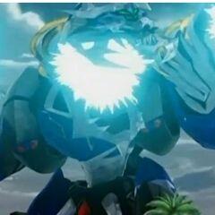 Aquos Razen Titan attacking