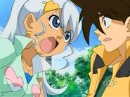 Julie yelling at Koji