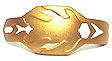 Rise Metal Cross Gold