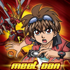 Dan Kuso and Titanium Dragonid