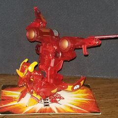 Translucent Pyrus Helix Dragonoid with Deluxe JetKor