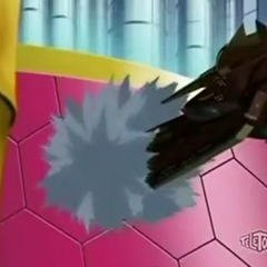 The Vestal Destroyer ramming the <a href=