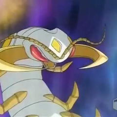 Haos Centipoid in Bakugan form
