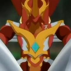 Blitz Dragonoid on Dragonoid Colossus