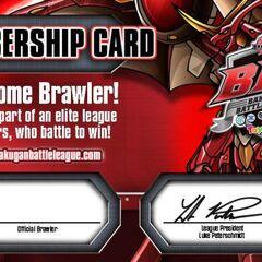 BBL Member's Card (pre-signed by Luke Peterschmidt)