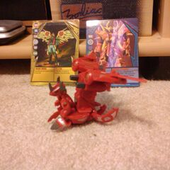 Dual-Error Crimson and Pearl Helix Dragonoid with Copper JetKor